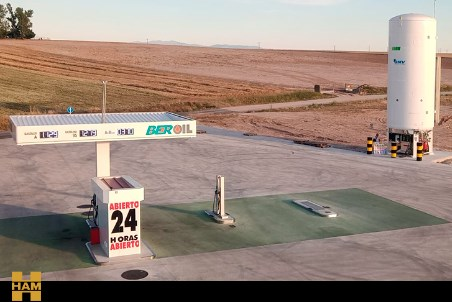 HAM opens new LNG service station in Spain