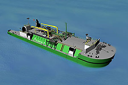 LNG bunkering barge gains ABS approval   LNG Industry