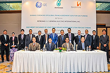 GE signs seven-year gas turbine supply agreement with Petronas | LNG